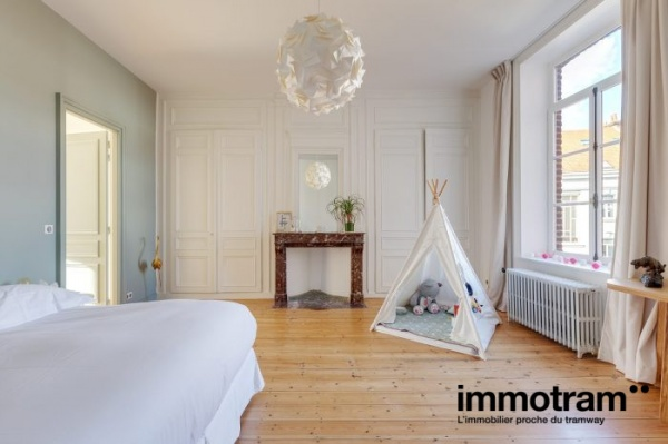 Immobilier Lille - achat Maison tramway Gare Lille Flandres