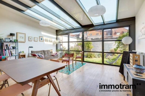 Immobilier Lille - achat Maison tramway Buisson
