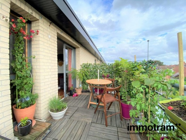 Immobilier Marcq en Baroeul - achat Appartement tramway Le Quesne