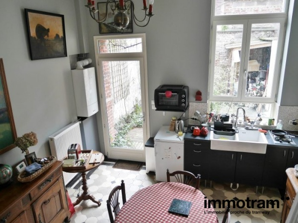 Immobilier Roubaix - achat Maison tramway Jean Moulin