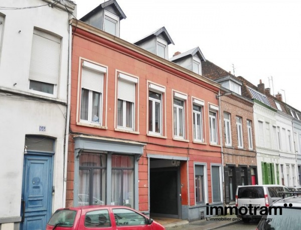 Immobilier Roubaix - achat Immeuble tramway Jean Moulin