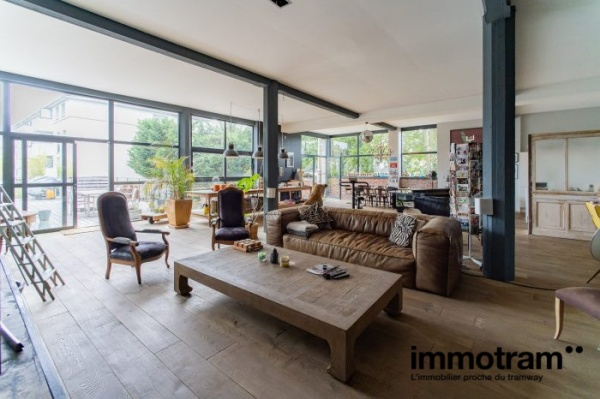 Immobilier Tourcoing - achat Loft tramway Tourcoing Centre