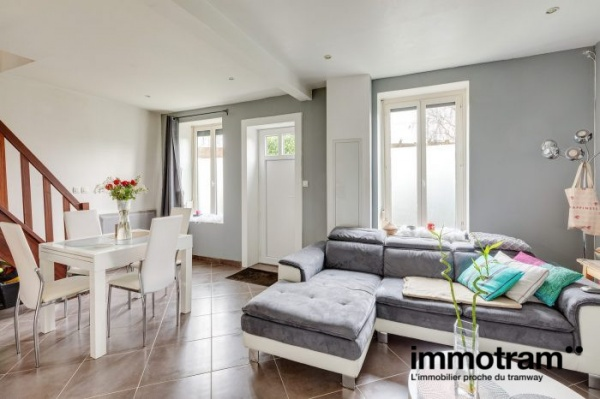 Immobilier Tourcoing - achat Maison tramway Trois Suisses